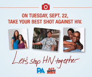 Everyone Can Take Action #ADayWithHIV