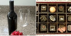 Chocolates and Wine Silent Auction Item