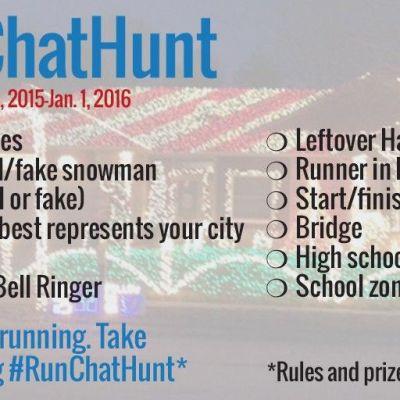 December 2015 #RunChatHunt