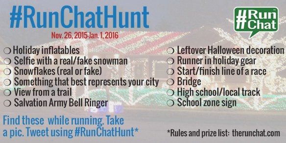 Running Scavenger Hunt