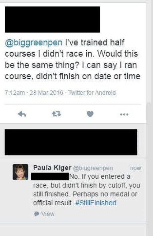 Running Race Rules