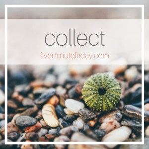 Five Minute Friday: Collect