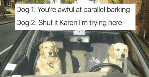 Please don't call me Karen