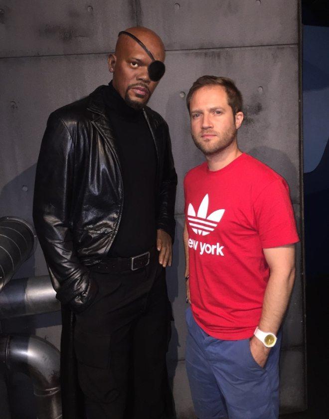 Meeting Samuel L Jackson backstage