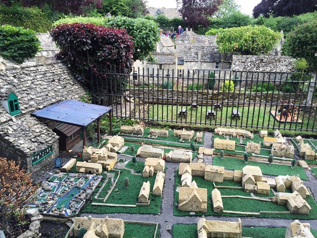 The model village's model village