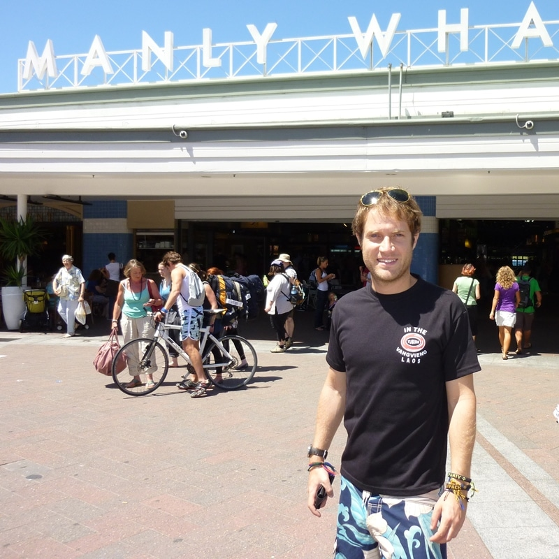 Manly Wharf in Australia
