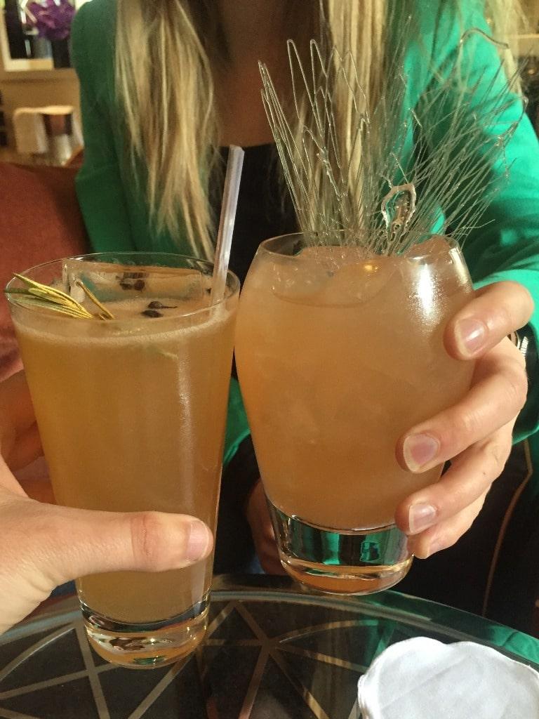 American Bar cocktails
