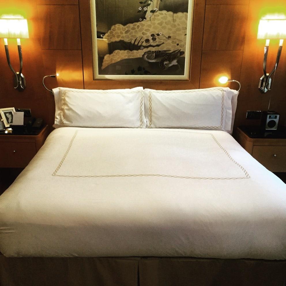 Savoy junior suite bedroom