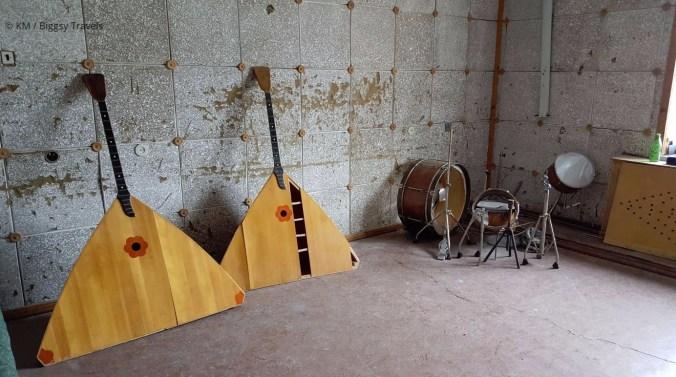 Svalbard Pyramiden guitars