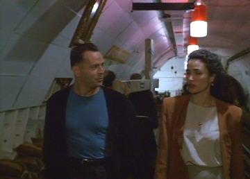 Bruce Willis in the film Hudson Hawk