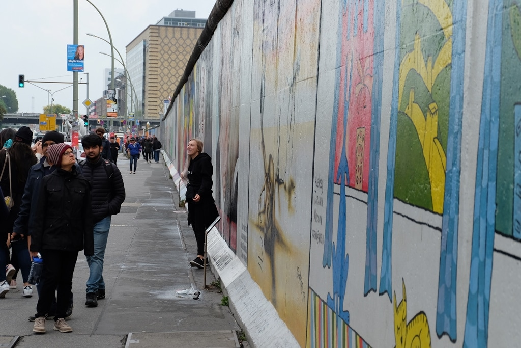 The East Side Gallery is over 1km long!