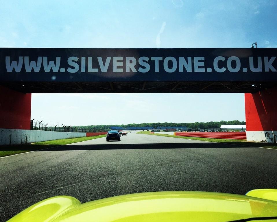 Drive a classic MGB around Silverstone