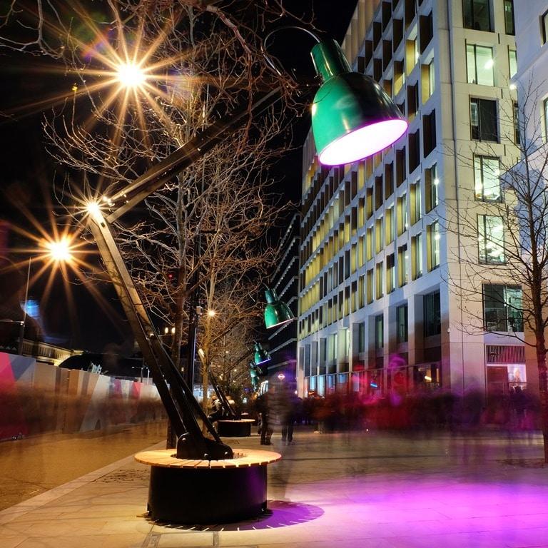 Lumiere London Kings Cross - Lampounette