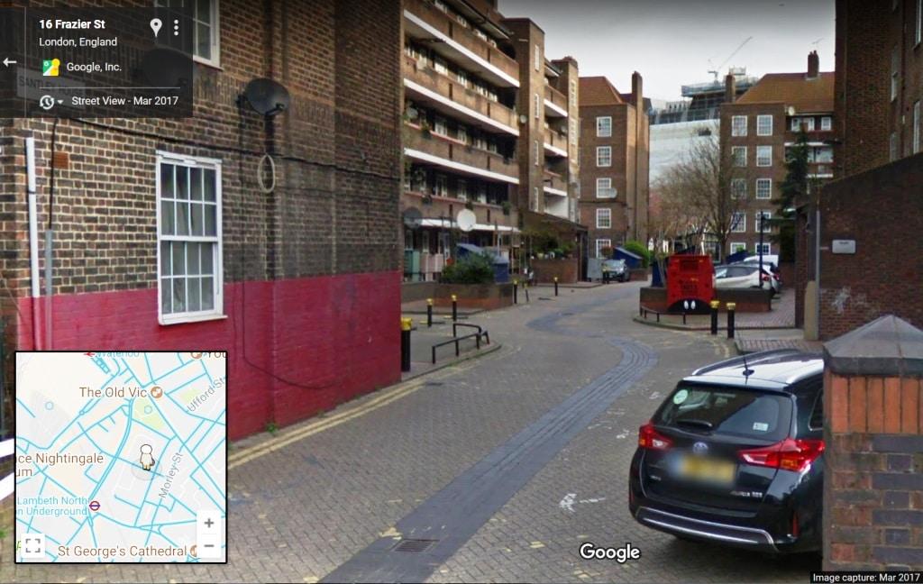 Centre of London? Frazier Street