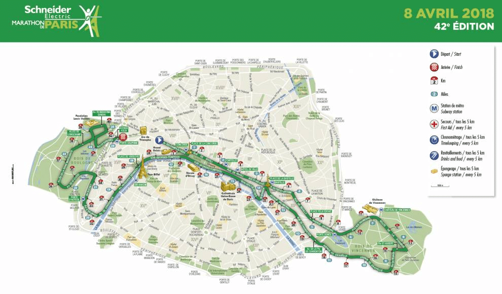 Paris marathon tips – 26.2 to get you started