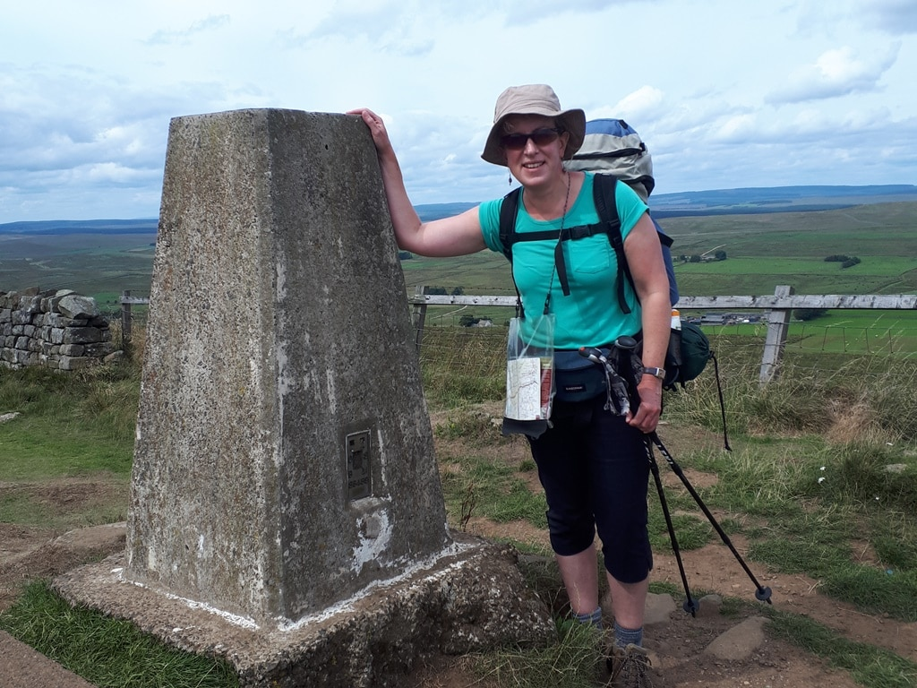 Hadrian's Wall: solo hiking a long-distance path