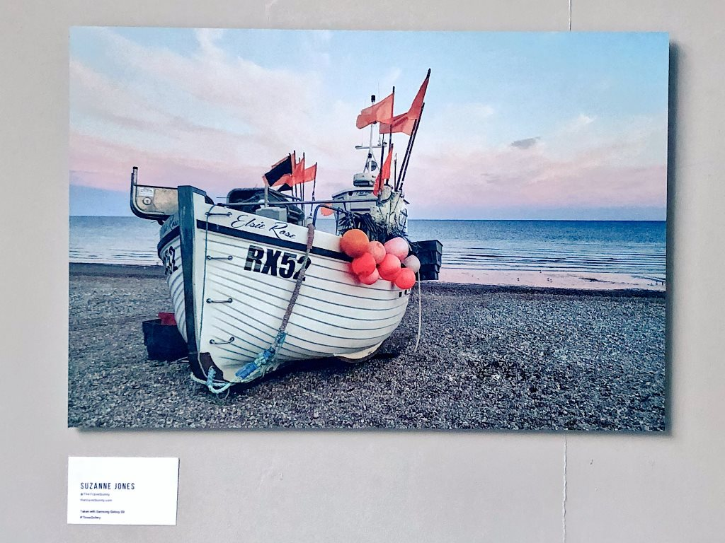Suzanne Jones' ThreeGallery entry of the boat Elsie Rose