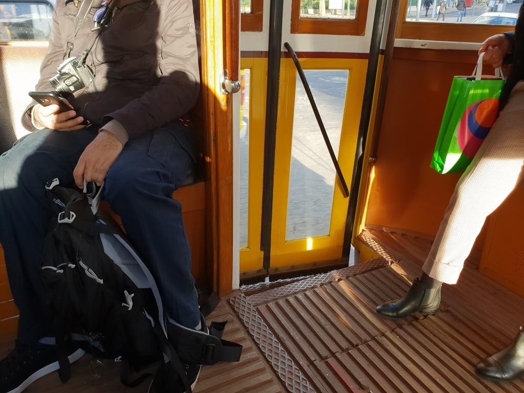 Beware of Tram 28 pickpockets, especially near the rear doors