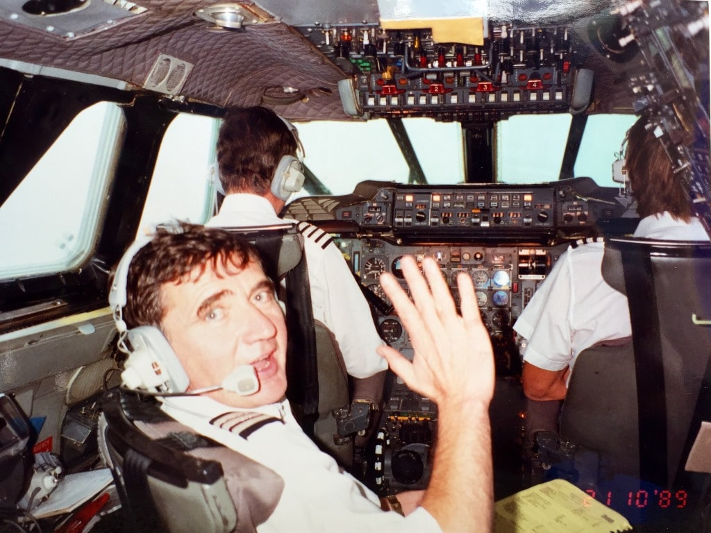 Visiting the Concorde cockpit