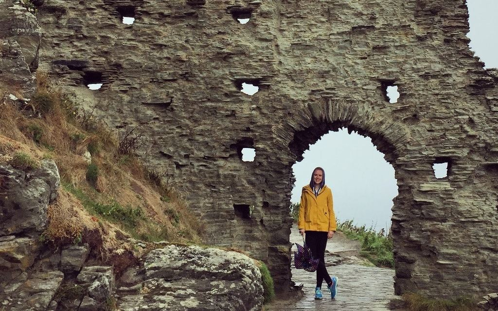 Tintagel Castle, King Arthur and Merlin's Cave