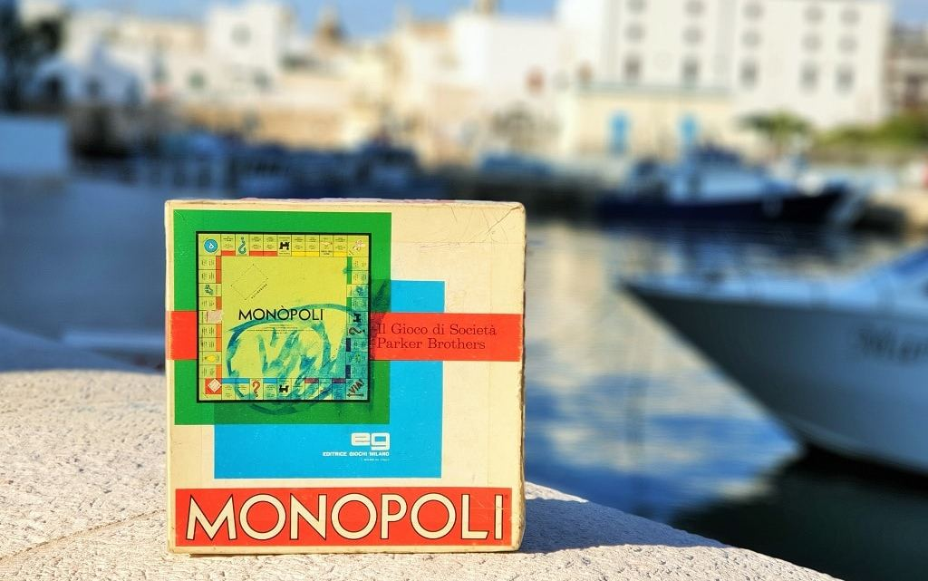 Monopoli in Puglia, Italy – but isn't that a board game?