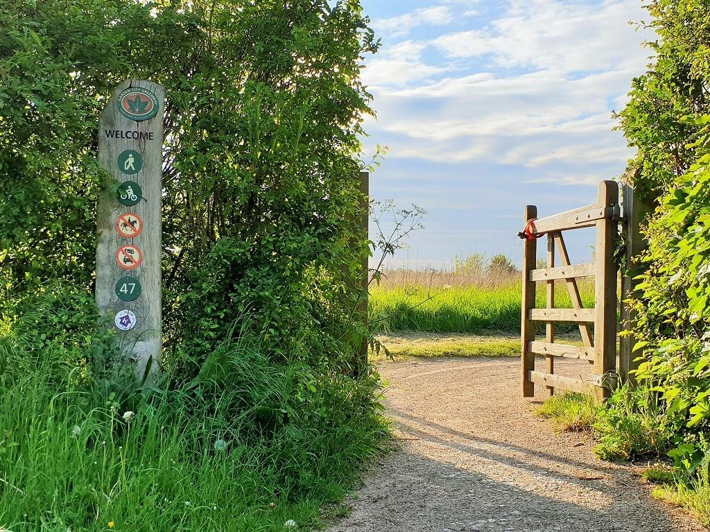 The Greenway at waymarker 47