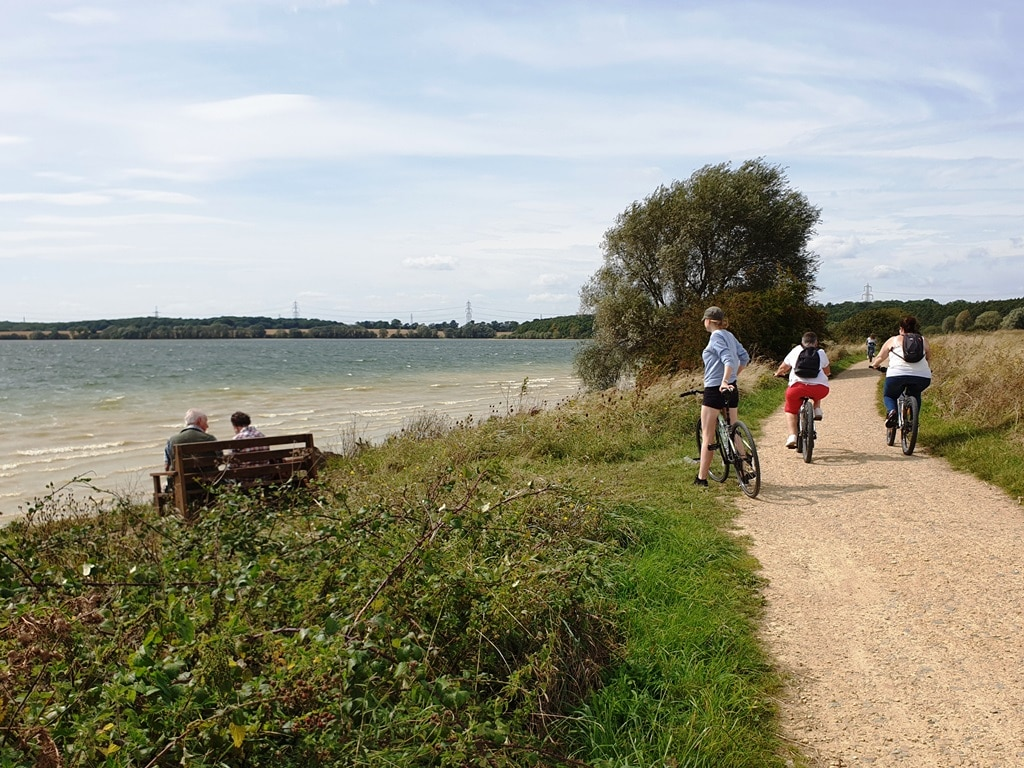 Grafham Water bike hire mini adventure