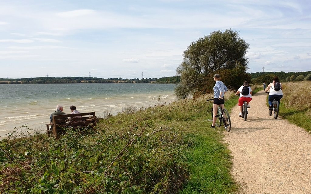 Grafham Water bike hire mini adventure