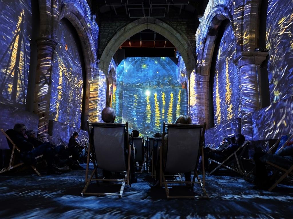 St Mary's Church Van Gogh exhibition