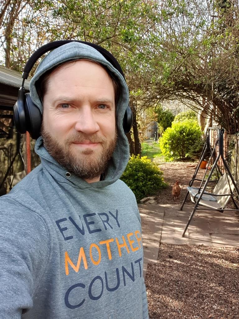 garden 5km finish selfie