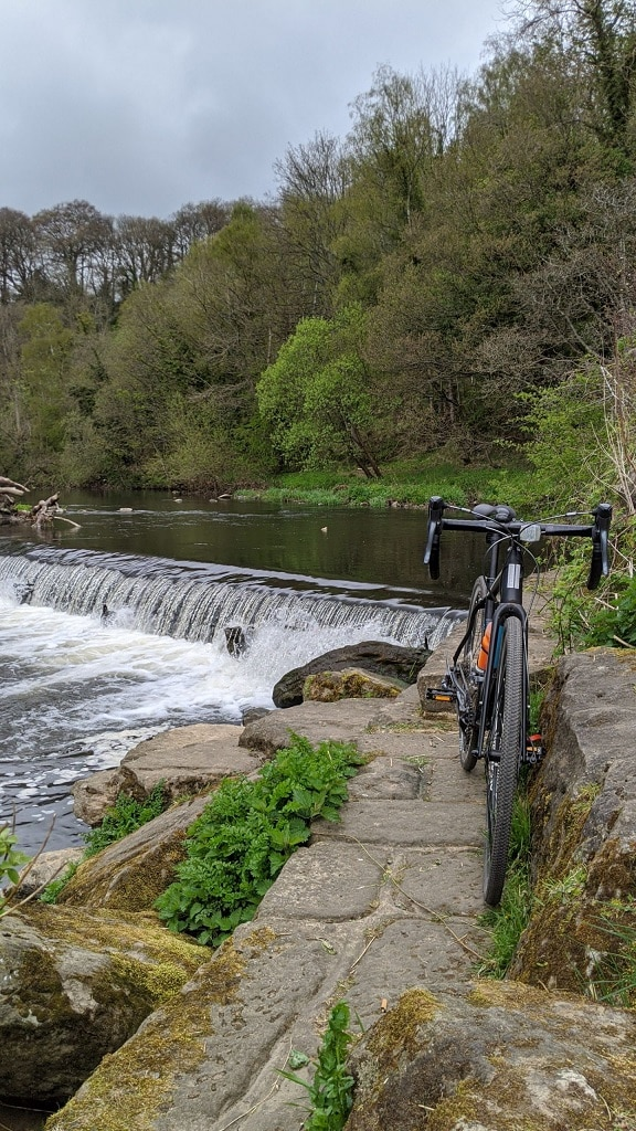 Derwent Water bicycle shot