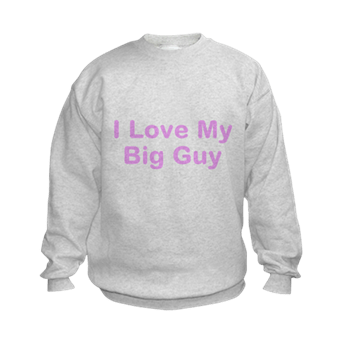 CafePress - I Love My Big Guy