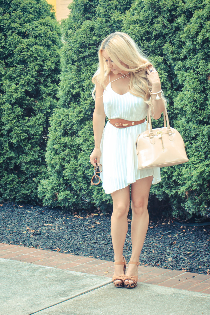 pleats, platforms, nude, style blog, midwest blogger, style blogger, indy blogger, look book