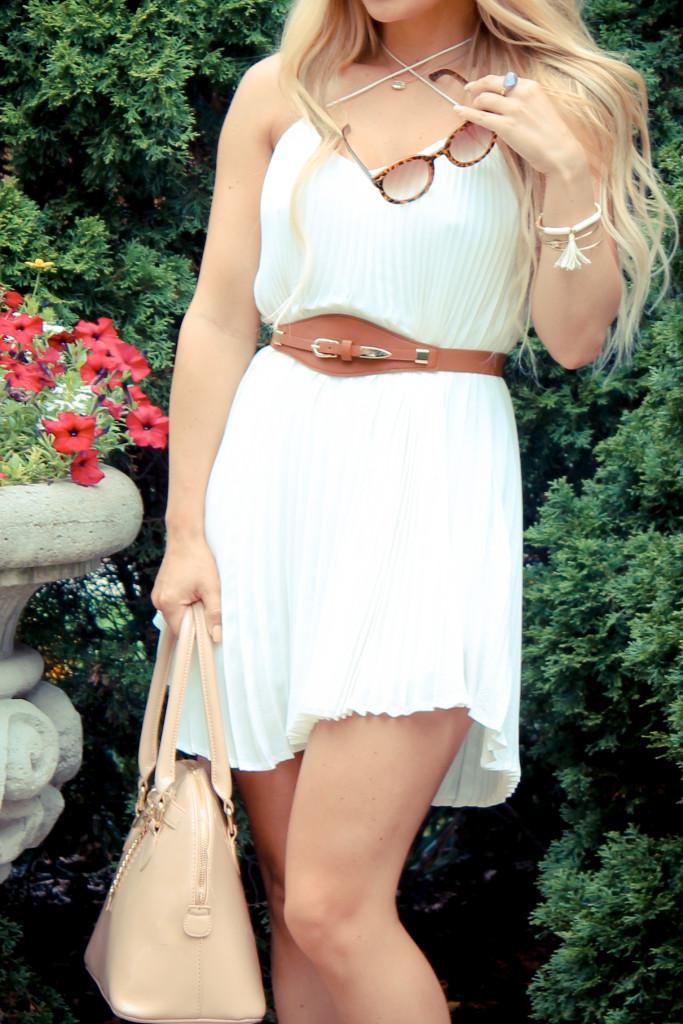flowy, pleated mini dress, mini dress,
