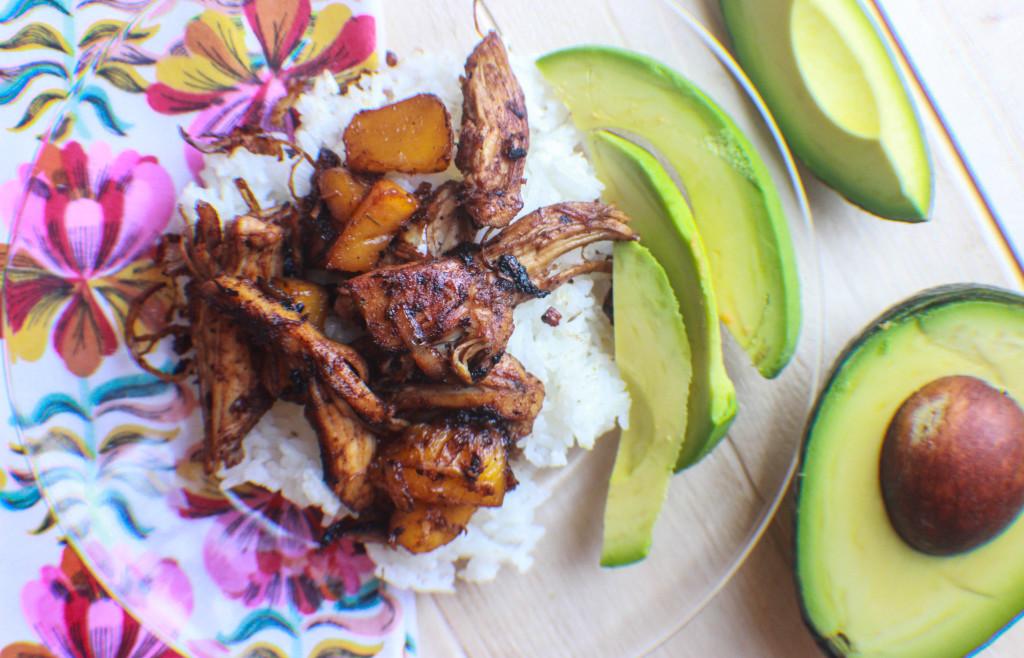 Jerk Chicken and Mango