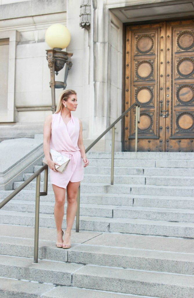 Blogger style: Blush and nude for summer.