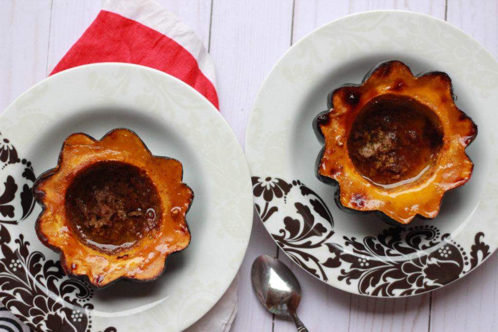 How to prepare acorn squash.