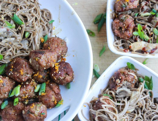 Spicy Ginger and Sesame Meatballs