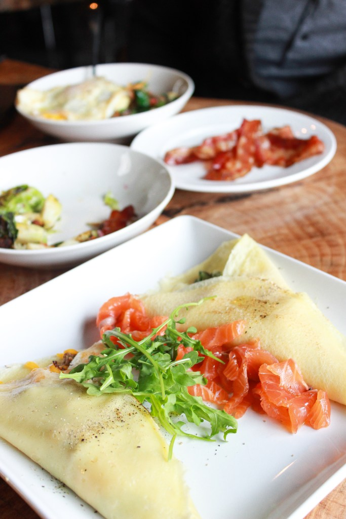 The Gallery Pastry Shop: Crepes for Brunch
