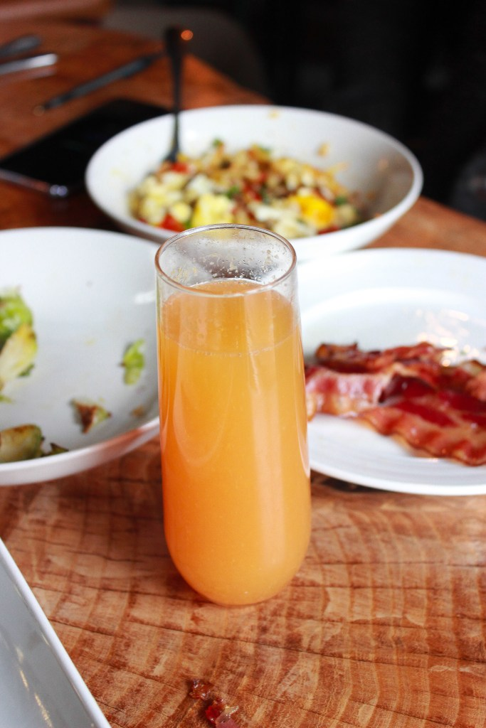 The Gallery Pastry Shop: Blood Orange Mimosas