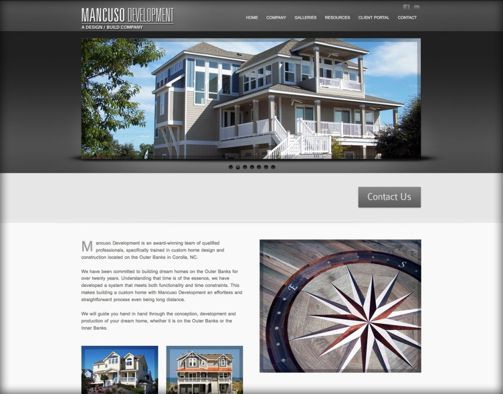 Outer Banks Web Site Design WordPress web sites