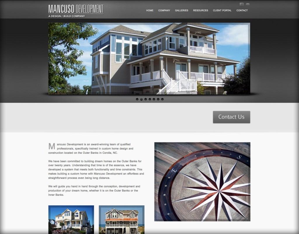 Outer Banks Web Site Design WordPress web sites