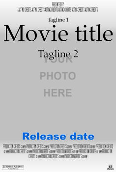 movie poster star in your own movie