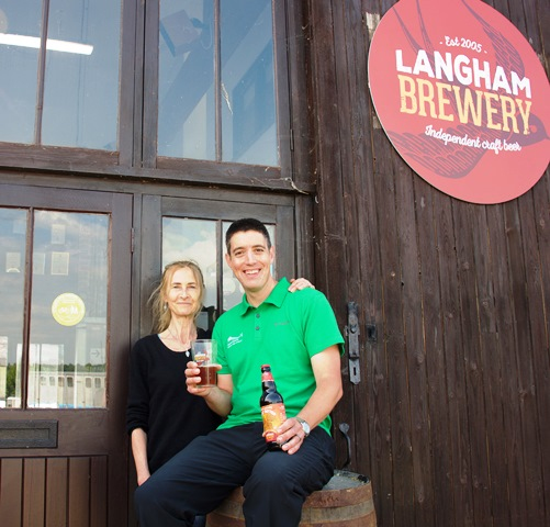 Brewery Raises Funds for Southdowns Way