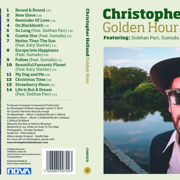 Christopher Holland's 'Golden Hour' Album Out Now