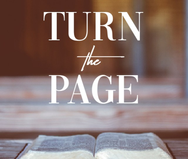 Turn The Page Article