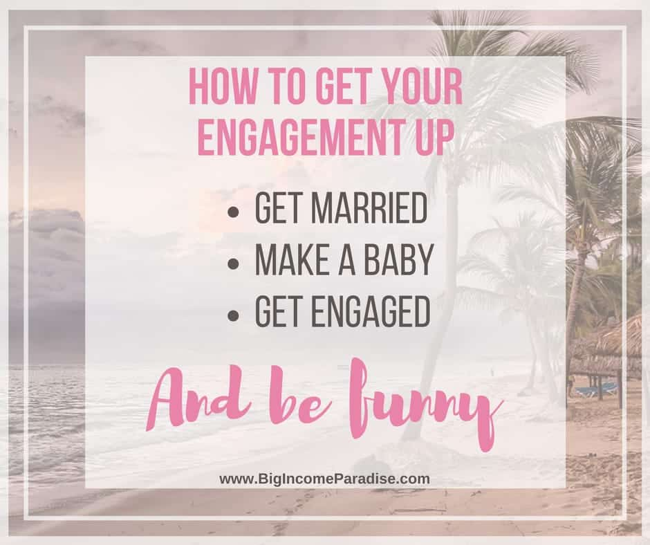 how to get massive engagement on facebook