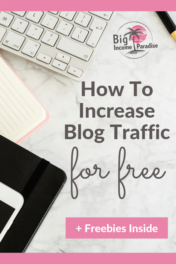 If you want to increase blog traffic for free then you are in the right place. Check out how we get free blog traffic every day and also how we included one simple trick that can explode your blog traffic and page views. Start using there blog traffic tips and you will see an increase of people on your blog. #Bigincomeparadise #blogtraffic #blogtraffictips #blogtips #bloggingtips #blogging