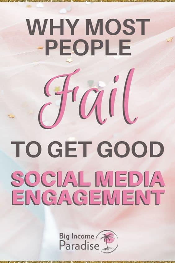 why most people fail to get good social media engagement