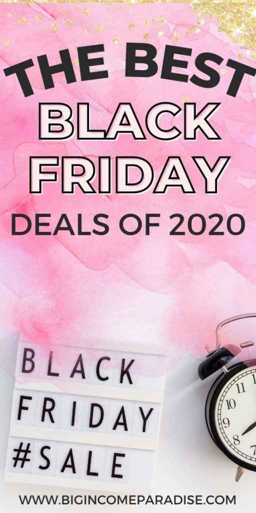 Best Black Friday Deals 2020 - For Bloggers & Entrepreneurs